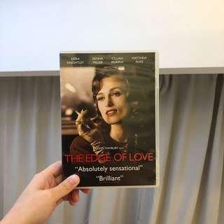 the edge of love 愛的邊緣 DVD KEIRA KNIGHTLEY