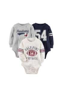 Carter Long Sleeves Bodysuits - 6m