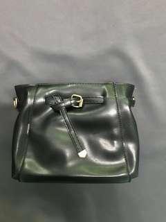 BN leather sling bag