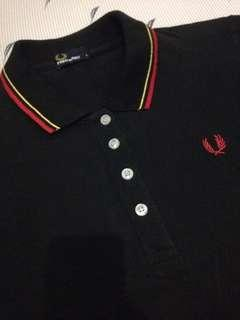 Fred Perry Black Polo Shirt