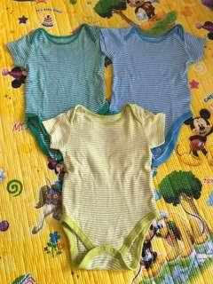 9-12M Mothercare Rompers