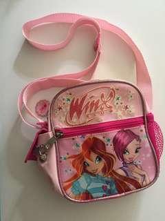 Winx Club sling bag for girls