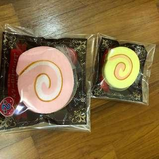 Japan cakeroll Squishy Set
