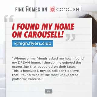 @high.flyers.club found his dream home on Carousell