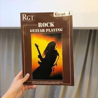 RGT rock guitar playing grade 3 guitar book