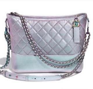 Chanel Gabrielle iridescent purple