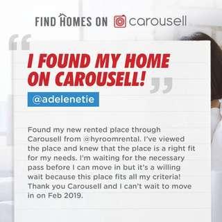 @adelenetie found her dream home on Carousell