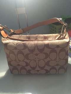 AUTHENTIC coach Bag & wristlet