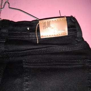 H&M skinny black