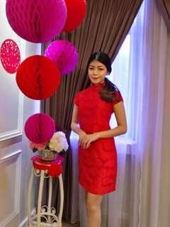 Red Qipao/ Cheongsam