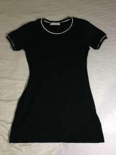 Sm Fashion Dress Side Zipper Body fit