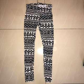 Aztec Workout tights #CNY888