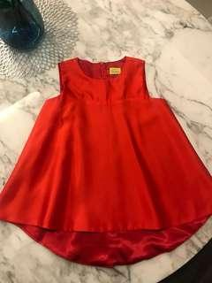 Red Top from Shoppes by Meir & Co