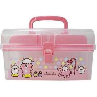 卡娜赫拉的小動物 手提置物盒 卡娜赫拉 kanahei 兔兔 p助 置物盒 置物箱 整理箱 收納箱 正版 生日 禮物