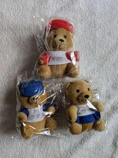 Singapore Airlines Bear Stuffed Toy