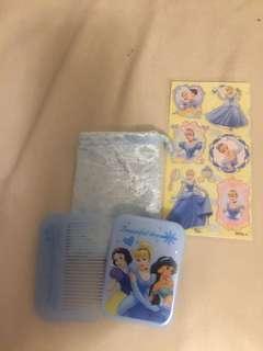 Disney Cinderella 梳及鏡子套裝