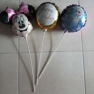 Preloved Fancy Balloons - RM10 for 3