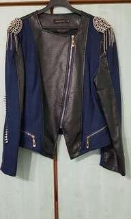 Rock / Funk Inspired Leather Jacket