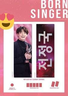 JUNGKOOK SLOGAN SET