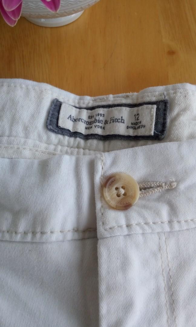Abercrombie Fitch shorts size 12