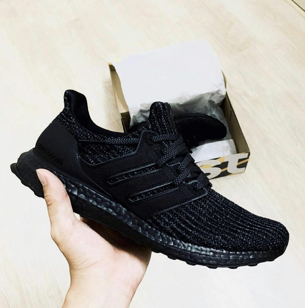 169cf04b4 Adidas Ultra Boost Triple Black