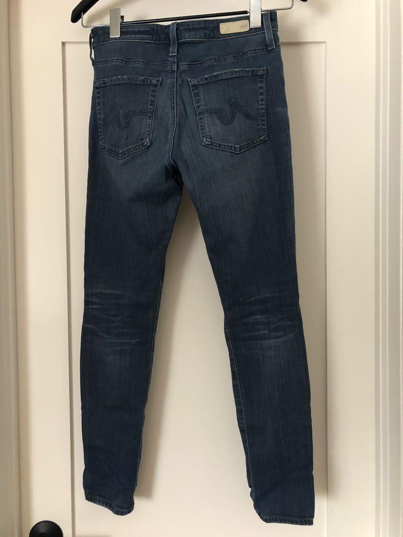AG-ED DENIM - The Farrah Skinny Crop (high rise) Jean, Size 26R
