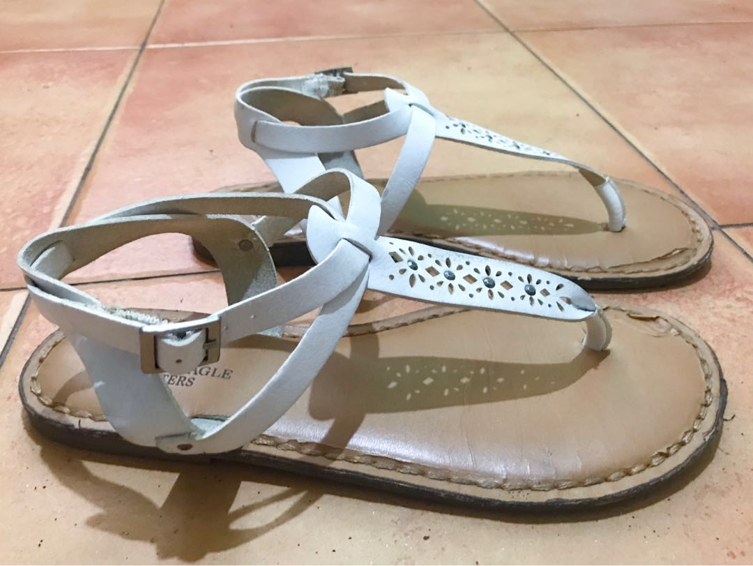 afba5eb65 American Eagle Outfitters thong strappy sandals