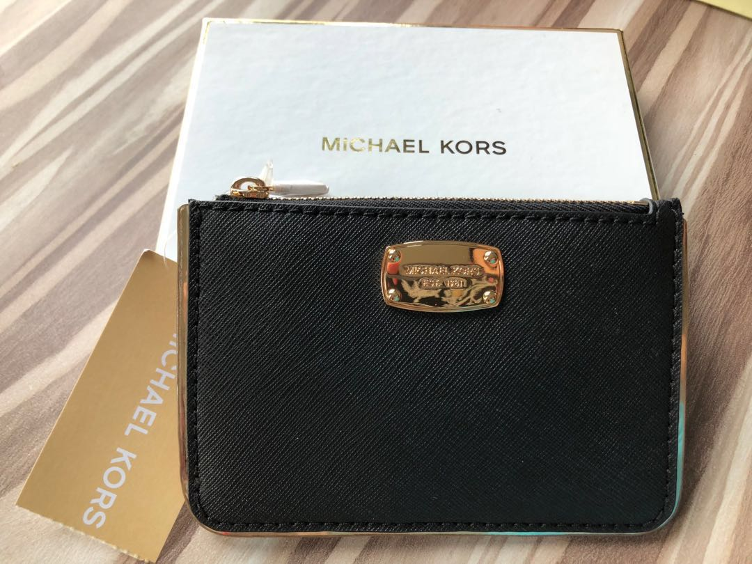 2ee69a1fbd0e Authentic Michael Kors Coin pouch with card Holder BNIB