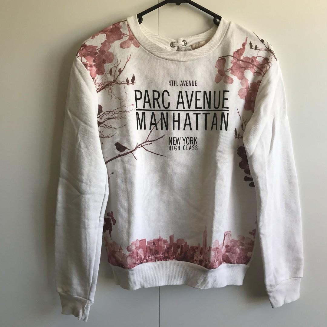 Bershka NYC sweater (Size S)