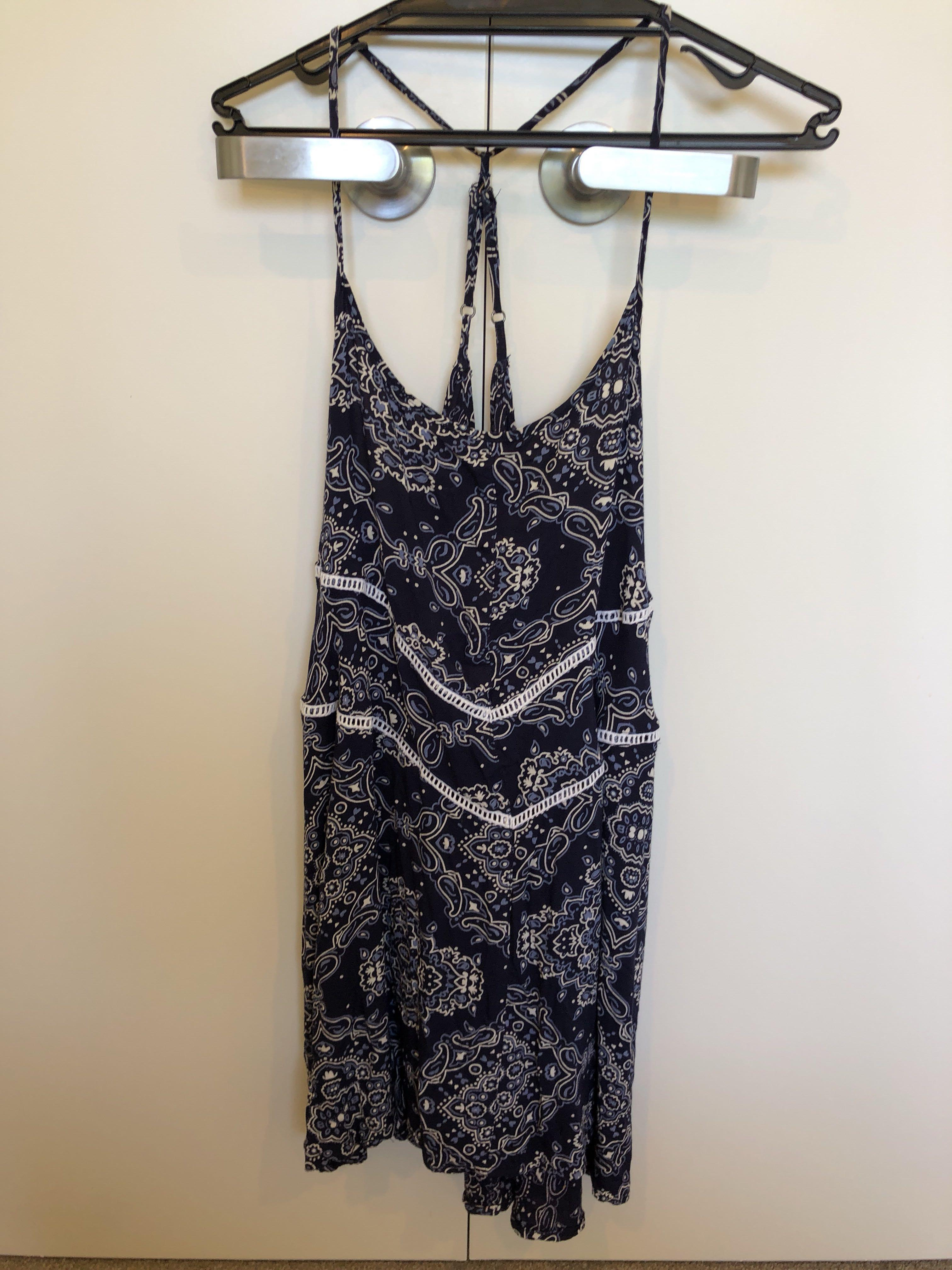 Blue Floral O'Neill Beach Dress