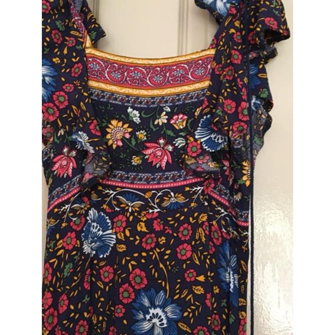 Boho dress size small