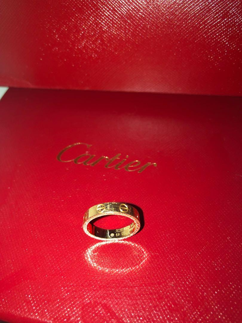 Cartier Ring size49