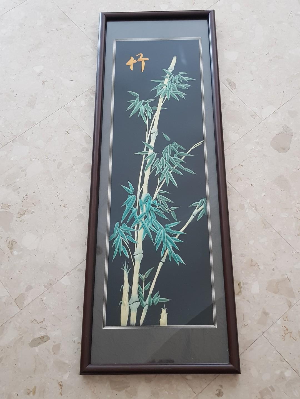 Chinese Art Piece - Lucky Bamboo