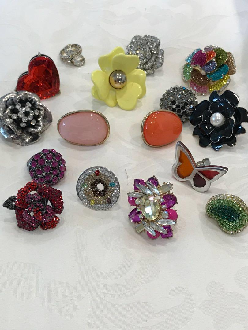 Fashion dress rings