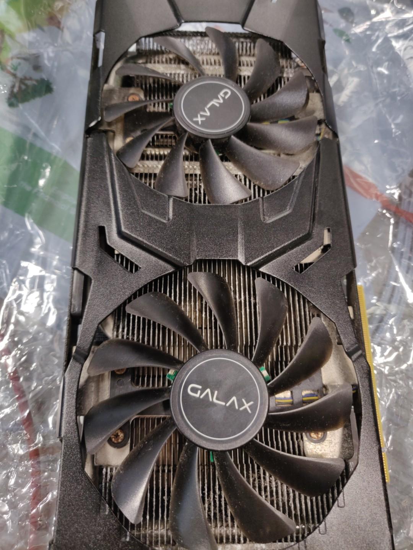 Galax GTX 1070 Ti Ex OC black 8gb