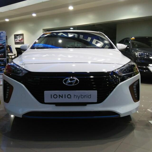 Hyundai IONIQ hybrid hottest promo's start 19OK 19OK apply Now hurry Limited unit Only😊