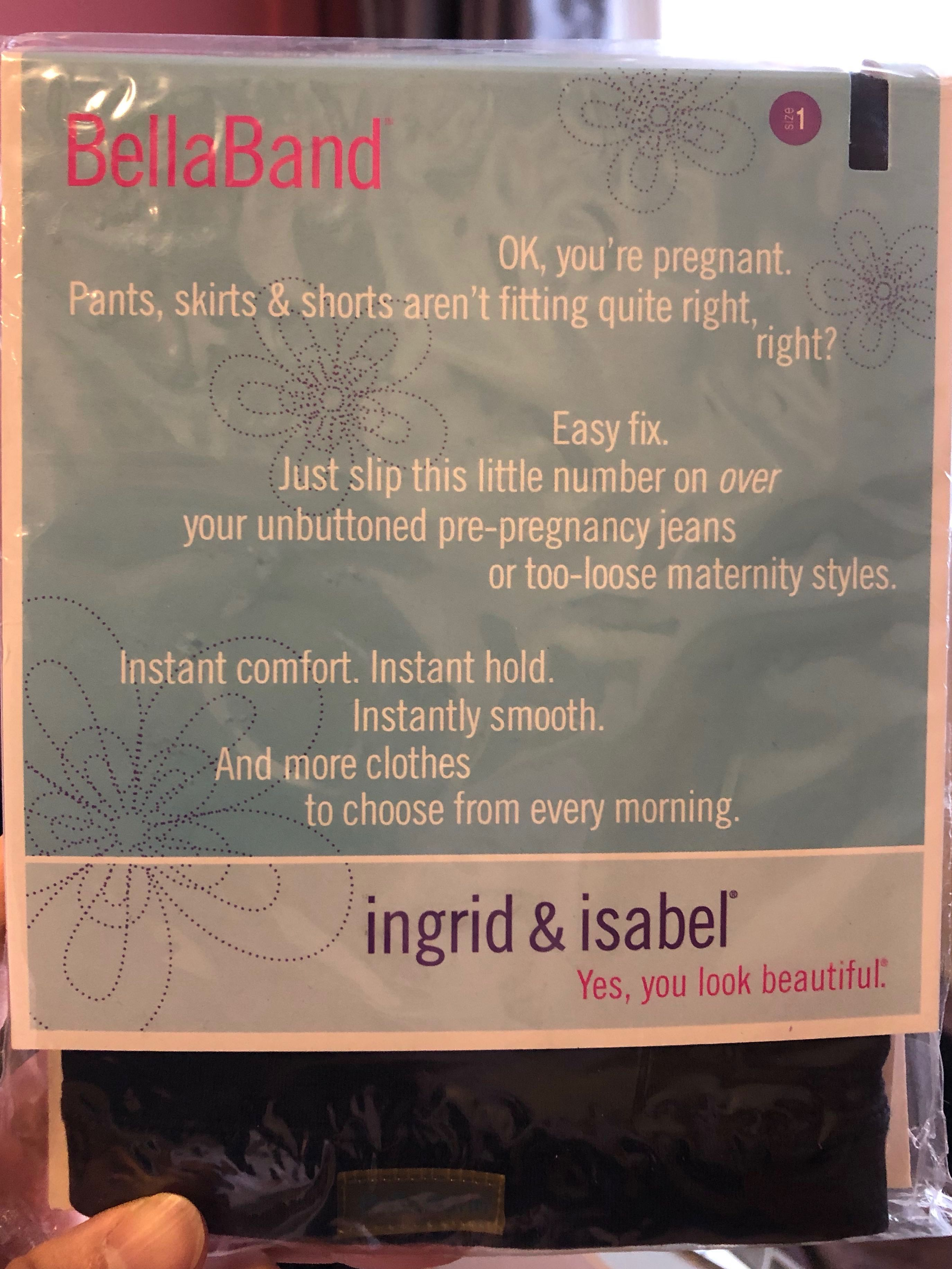 aaf3183f7e3e1e Ingrid and Isabel BellaBand Maternity Band (size 1), Babies & Kids ...