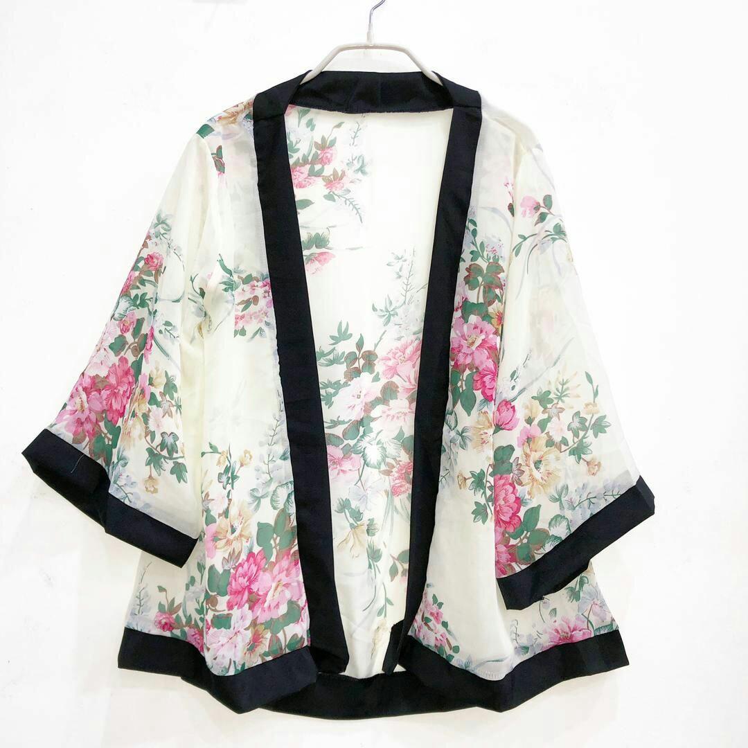 d1084e881 KIMONO CARDIGAN (A), Women's Fashion, Clothes, Outerwear on Carousell