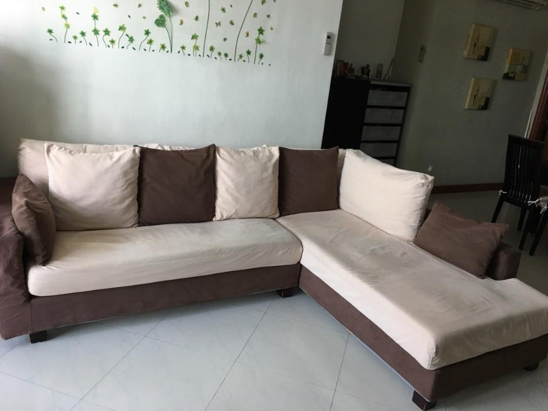 Picture of: L Shape Sofa Furniture Sofas On Carousell