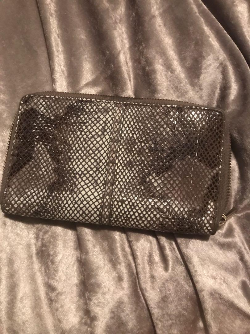 Leather clutch/wallet