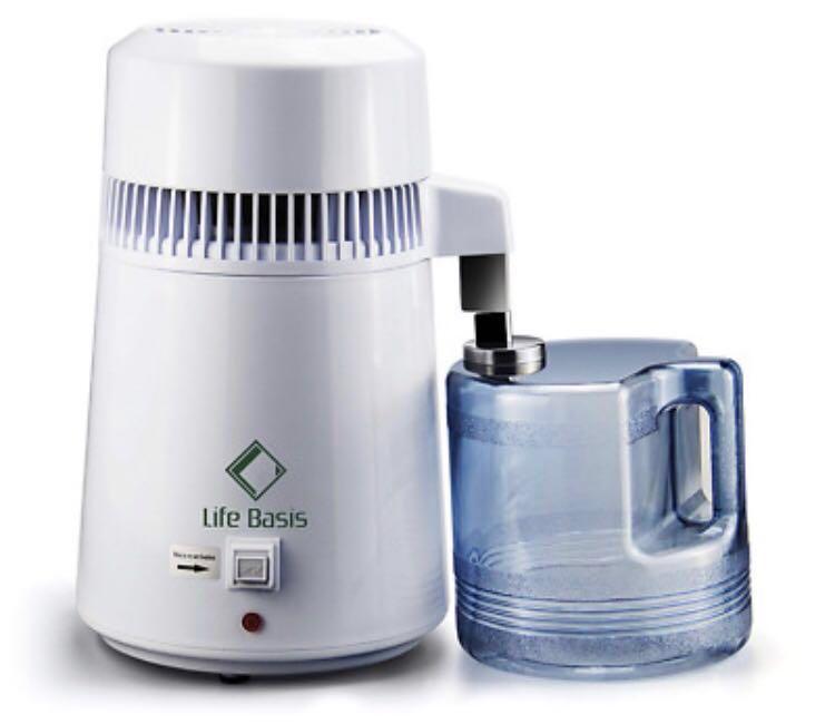 Life Basis Water Distiller Stainless Purifier Steel 4 Liter