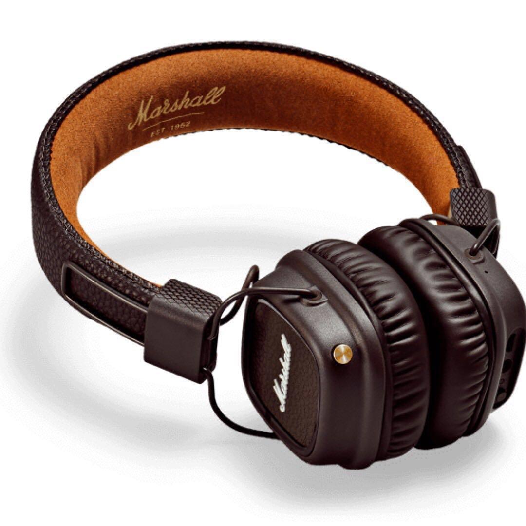 9d1f1c10ecee Marshall Major II Bluetooth On-Ear Headphones - Brown