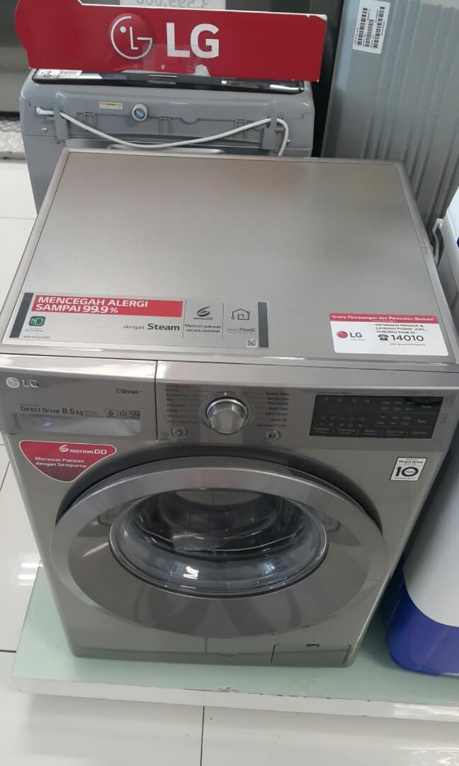 Mesin Cuci Front Loading LG 8,5 Kg