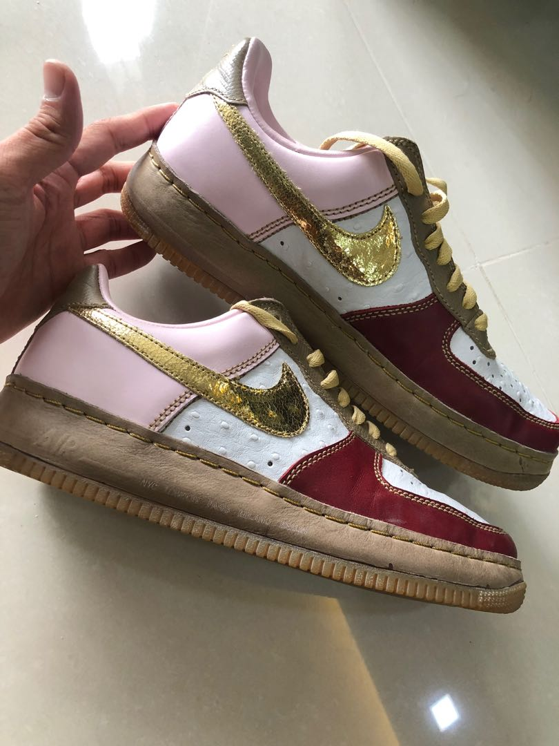 c412a829d1 Nike Air Force 1 premium, Men's Fashion, Footwear, Sneakers on Carousell