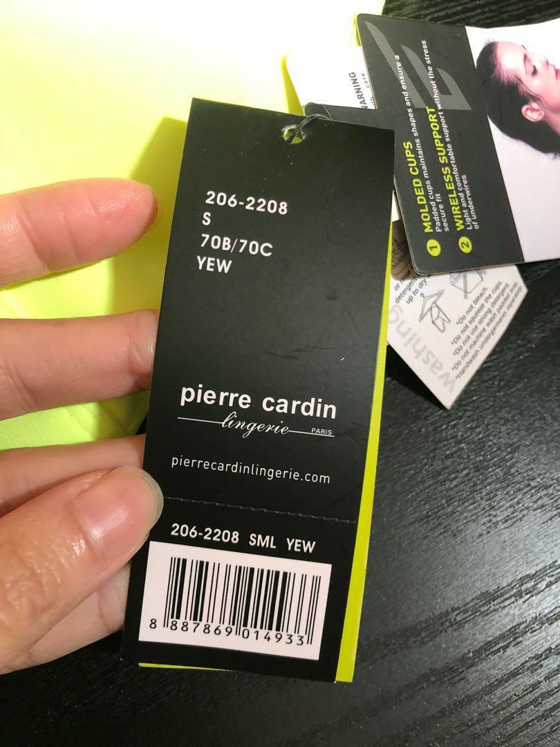 Pierre Cardin 全新運動胸圍