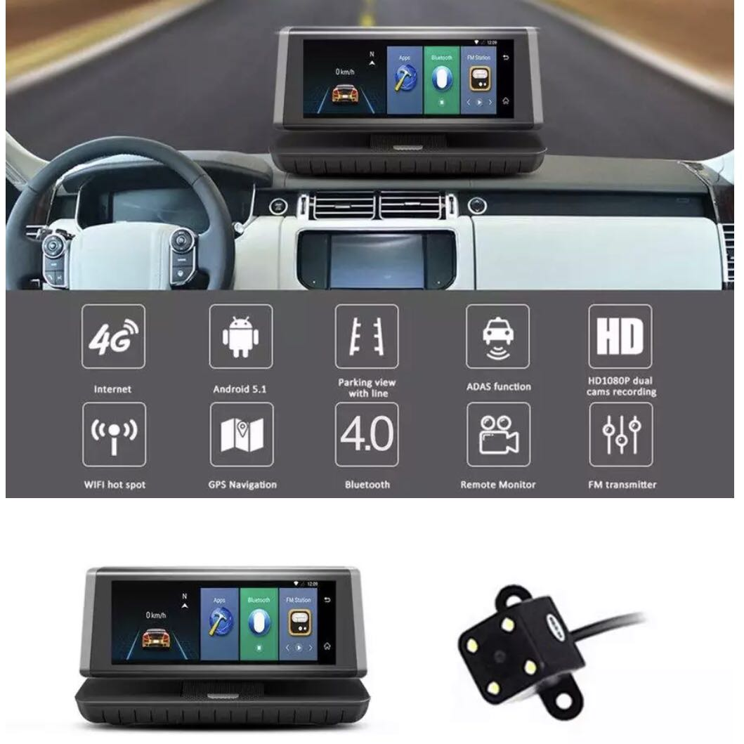 Portable Android FM GPS Bluetooth Wifi PlayStore Apps Video