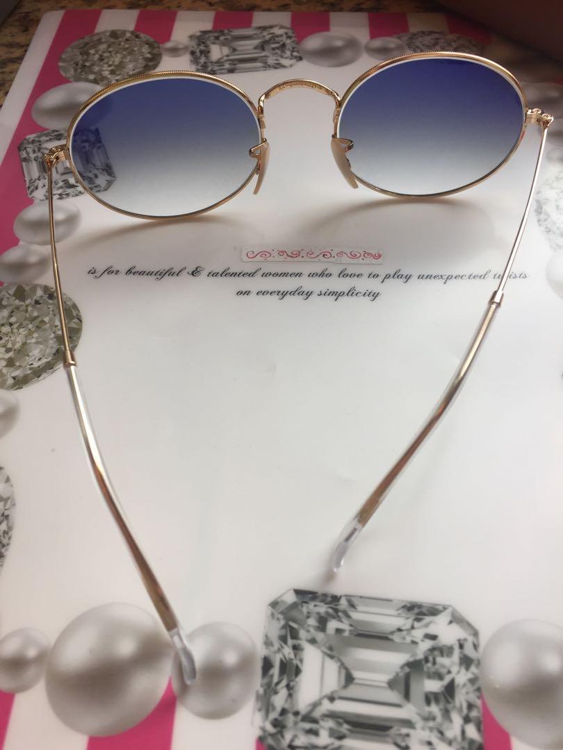 Ray ban sunglasses 太陽眼鏡 藍色鏡片全新 NEW