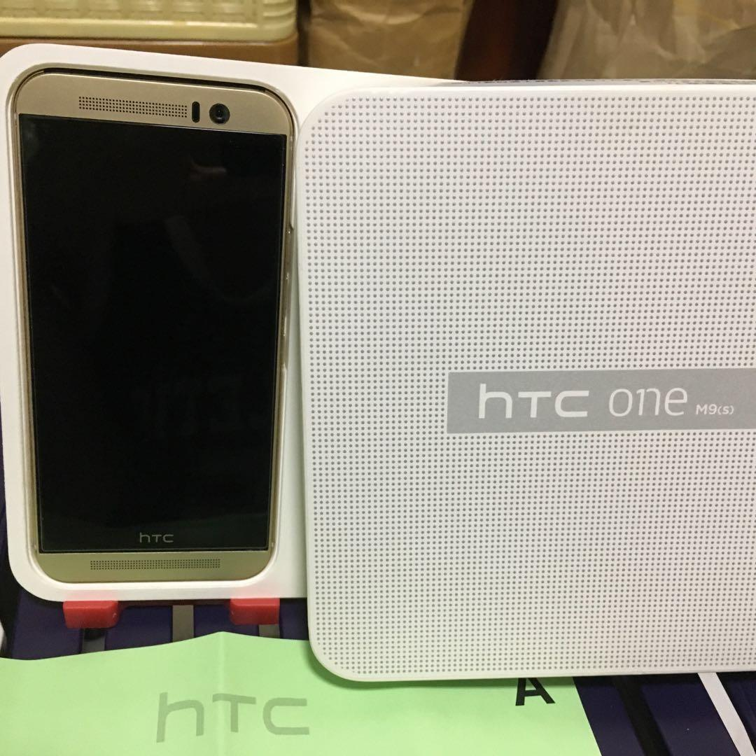 (給rock50715)新春過好年 htc one M9(s) (Gold)
