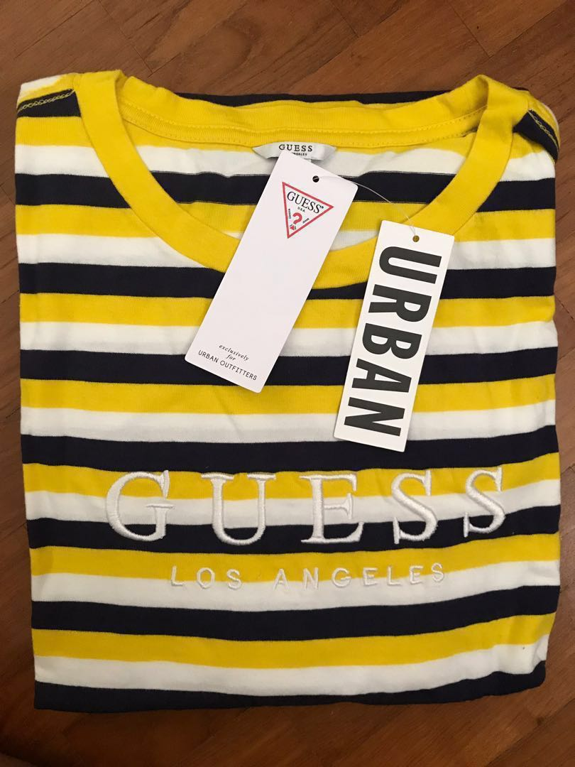 fc204574cc STEAL GUESS STRIPED TEE