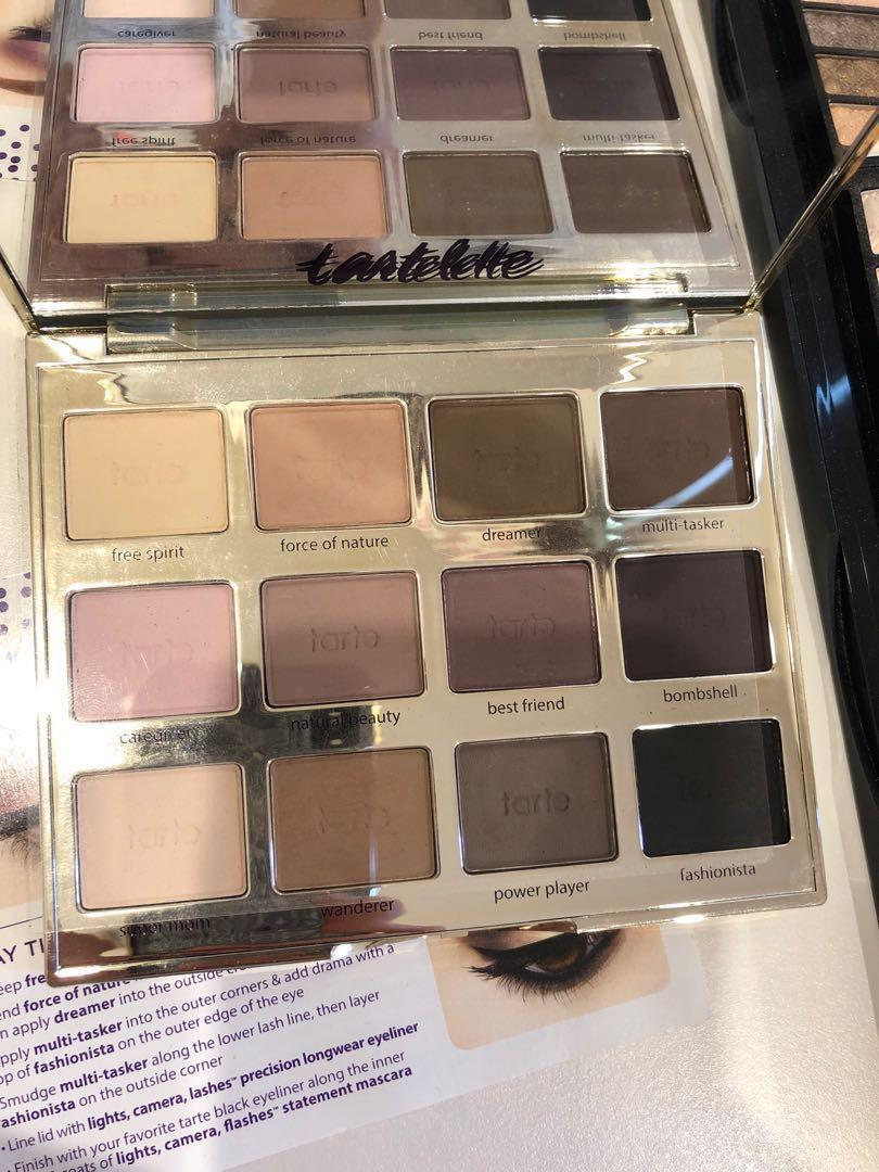 Tarte, chi chi, Australis and more eyeshadows- all AUTHENTIC